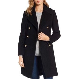 GUESS Double Breasted Military Coat